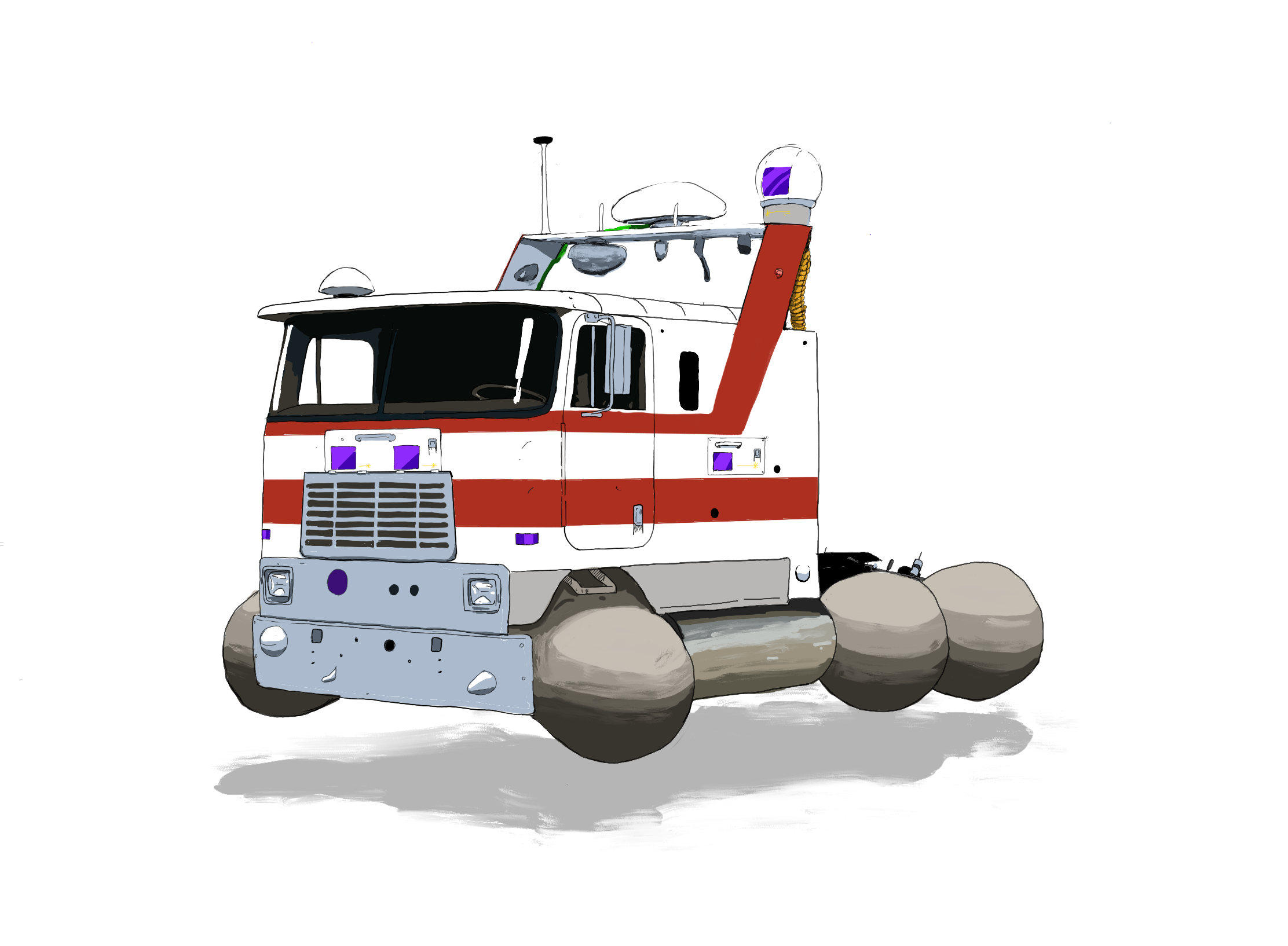 hover conversion cabover truck
