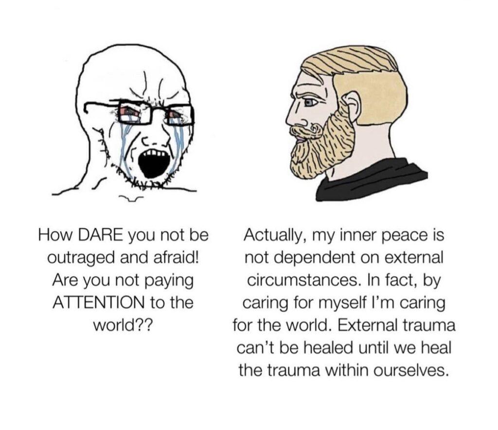 inner peace meme
